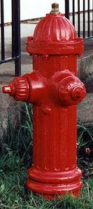 Photo of early Darling hydrant