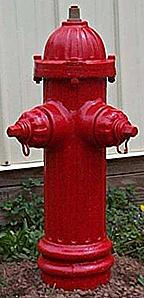Photo of early Darling hydrant, a variation of the same model shown above